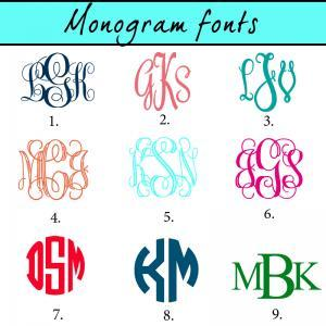 Aztec pattern monogram license plat..