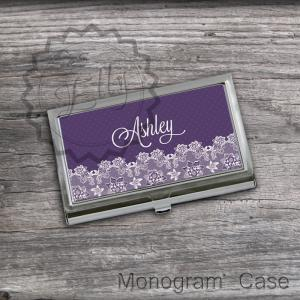 Personalized Business Card Holder -..