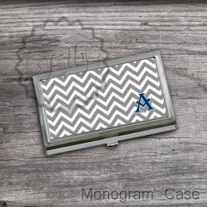 Gray Business Card Holder - Letter ..